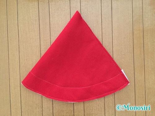フェルトでサンタ帽子の作り方5