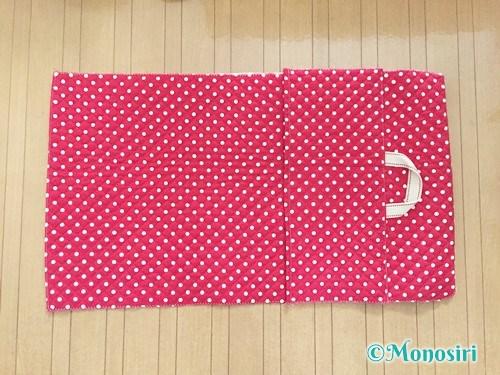 背もたれタイプの防災頭巾カバーの作り方16