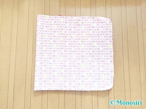 背もたれタイプの防災頭巾カバーの作り方19