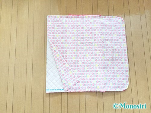 背もたれタイプの防災頭巾カバーの作り方22