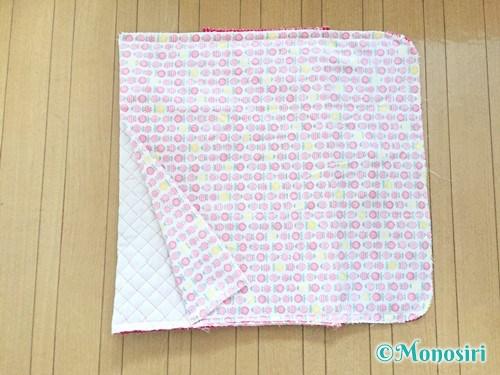 背もたれタイプの防災頭巾カバーの作り方23
