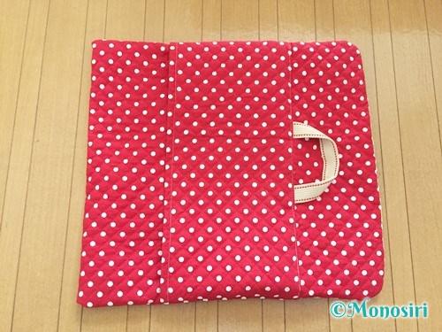 背もたれタイプの防災頭巾カバーの作り方24