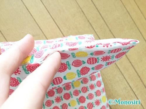 背もたれタイプの防災頭巾カバーの作り方26