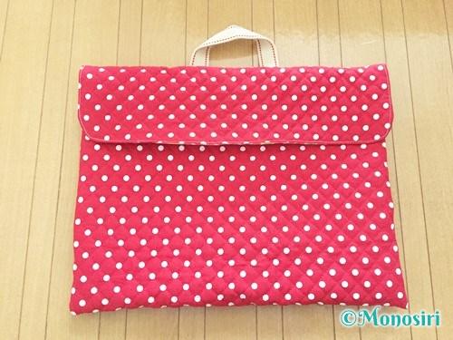 背もたれタイプの防災頭巾カバーの作り方28