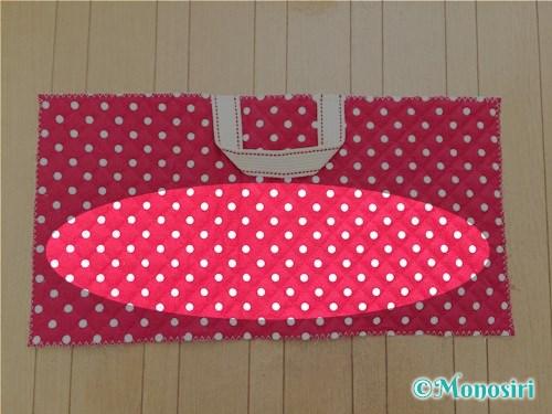 背もたれタイプの防災頭巾カバーの作り方4