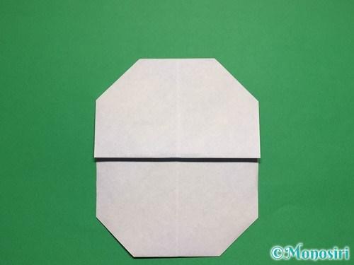 折り紙で簡単な雪だるまの折り方10