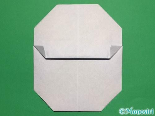 折り紙で簡単な雪だるまの折り方12