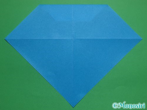 折り紙で帽子付き雪だるまの折り方11