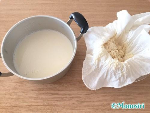 手作り豆腐作成手順13