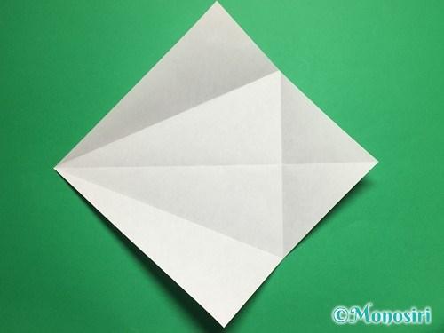 折り紙で立体的な桜(器)の作り方手順7