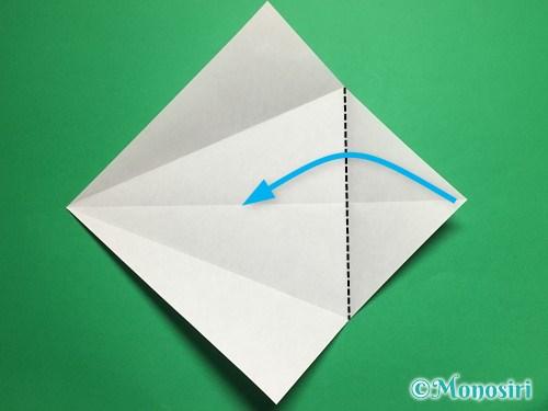 折り紙で立体的な桜(器)の作り方手順8