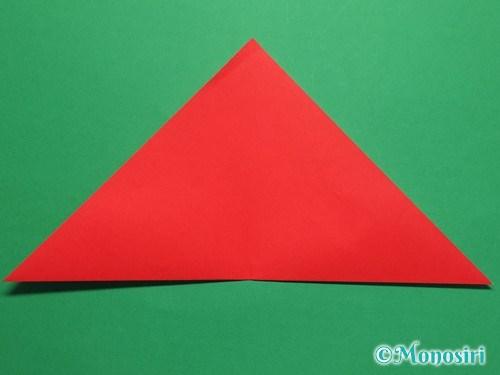 折り紙で簡単なチューリップの折り方手順4