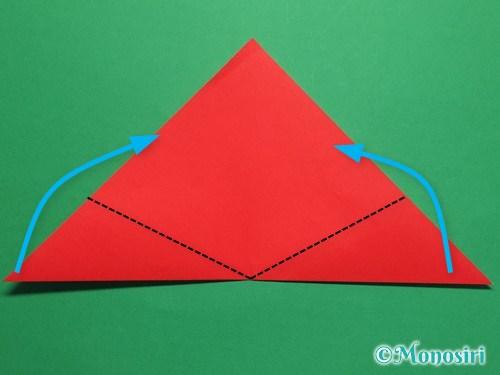 折り紙で簡単なチューリップの折り方手順5