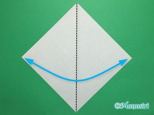 折り紙で簡単なチューリップの折り方手順9