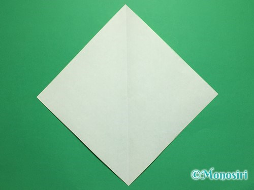 折り紙で簡単なチューリップの折り方手順10