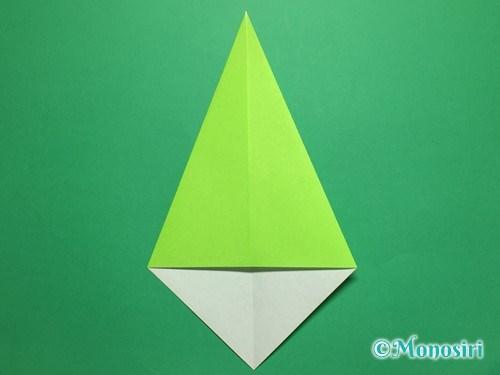 折り紙で簡単なチューリップの折り方手順12