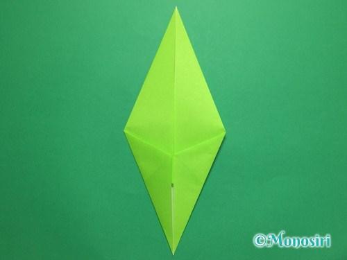 折り紙で簡単なチューリップの折り方手順14