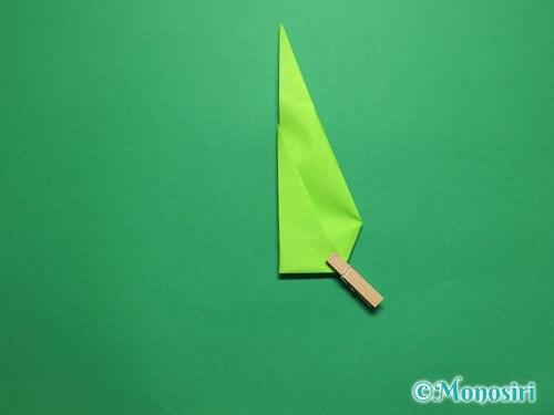 折り紙で簡単なチューリップの折り方手順18