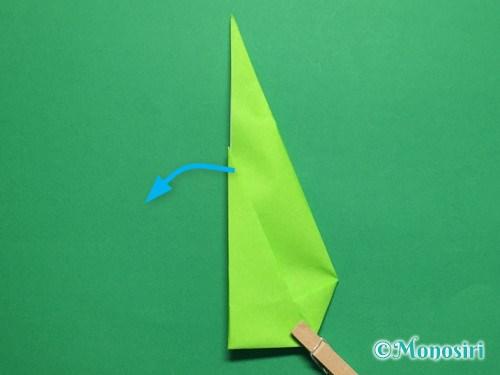 折り紙で簡単なチューリップの折り方手順19