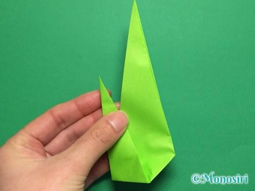 折り紙で簡単なチューリップの折り方手順20
