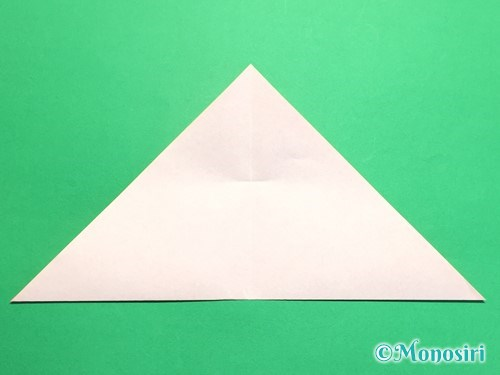 折り紙で梅の花の折り方手順7
