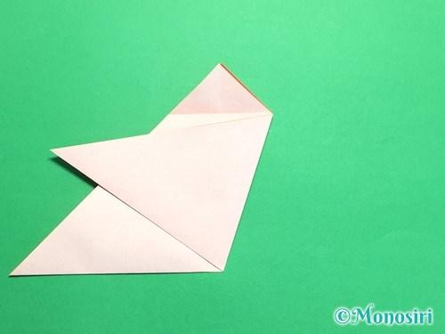 折り紙で梅の花の折り方手順11