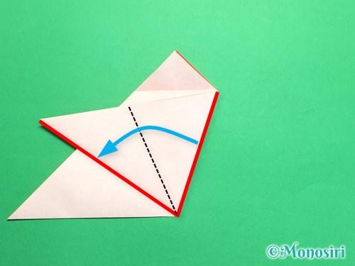 折り紙で梅の花の折り方手順12