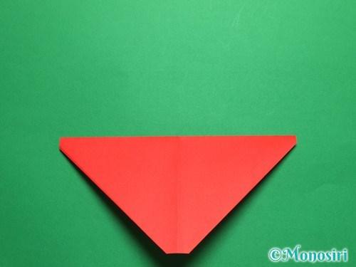 折り紙で立体的なチューリップの折り方手順6