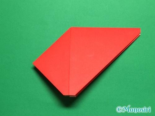 折り紙で立体的なチューリップの折り方手順12