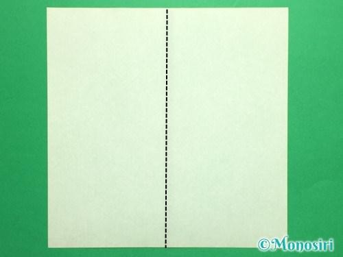 折り紙で立体的なチューリップの折り方手順28