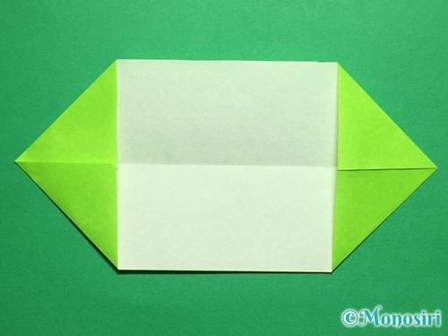 折り紙で立体的なチューリップの折り方手順43