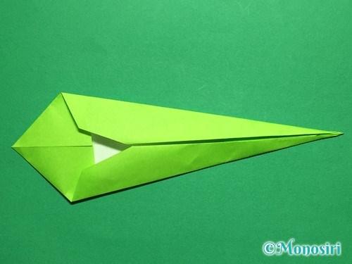 折り紙で立体的なチューリップの折り方手順47