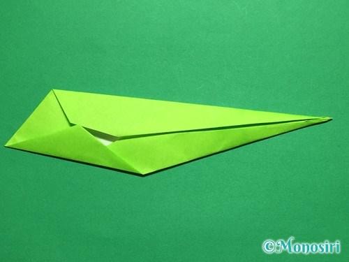 折り紙で立体的なチューリップの折り方手順49