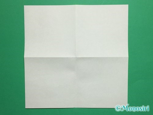 折り紙で蝶(ちょうちょ)の折り方手順3