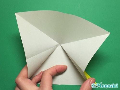 折り紙で蝶(ちょうちょ)の折り方手順6