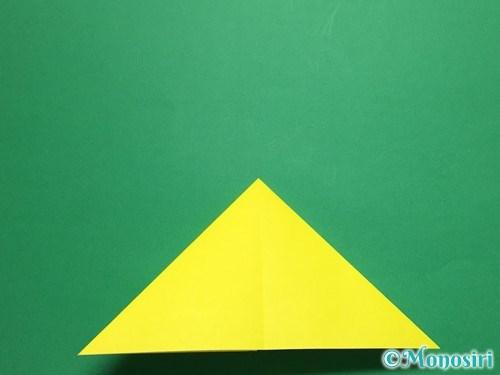 折り紙で蝶(ちょうちょ)の折り方手順8