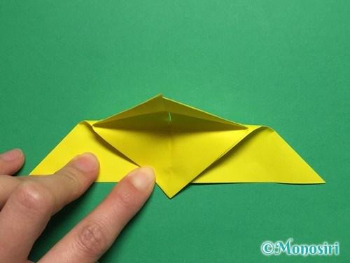 折り紙で蝶(ちょうちょ)の折り方手順13