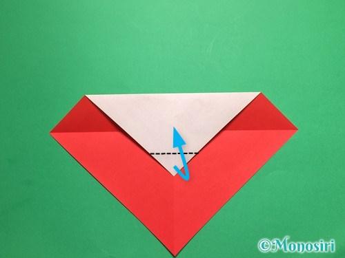 折り紙でテントウ虫の折り方手順5