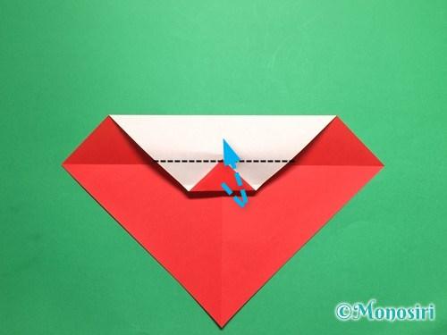 折り紙でテントウ虫の折り方手順7