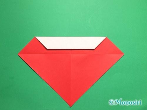 折り紙でテントウ虫の折り方手順8