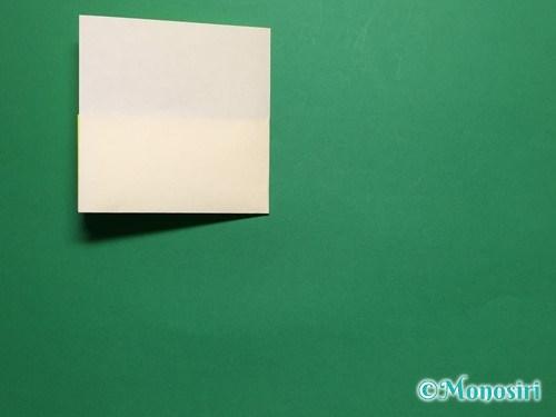 折り紙で菜の花の折り方手順6