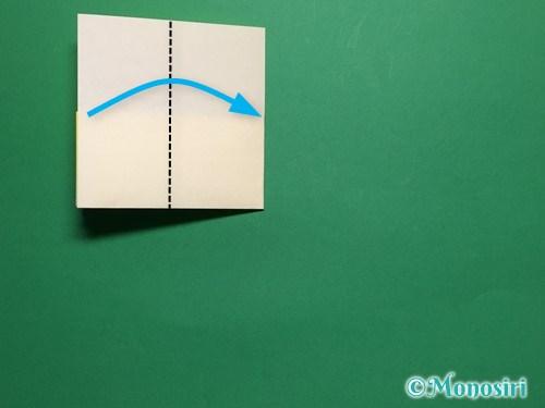 折り紙で菜の花の折り方手順7