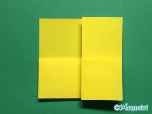 折り紙で菜の花の折り方手順9