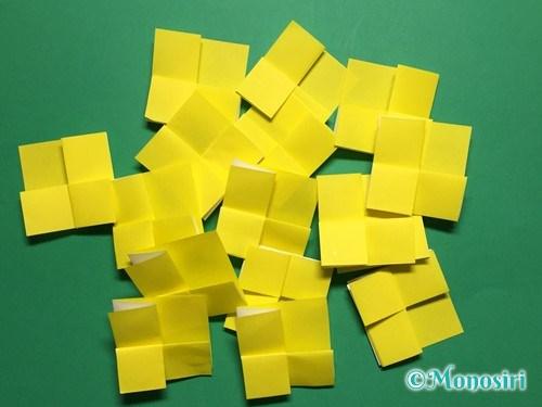 折り紙で菜の花の折り方手順10