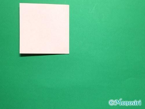 折り紙で簡単なガーベラの折り方手順4