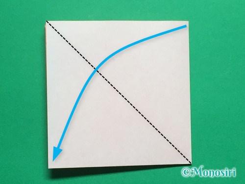 折り紙で簡単なガーベラの折り方手順5