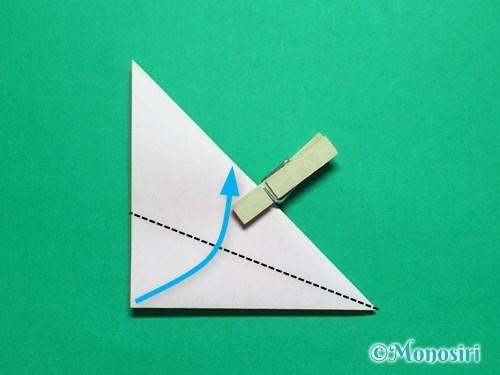折り紙で簡単なガーベラの折り方手順7