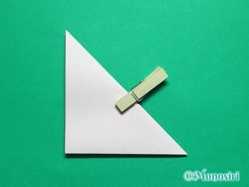 折り紙で簡単なガーベラの折り方手順6
