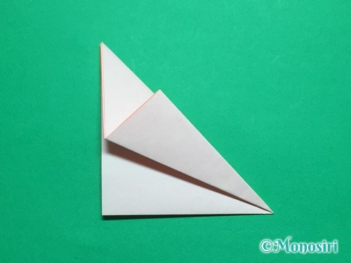 折り紙で簡単なガーベラの折り方手順8
