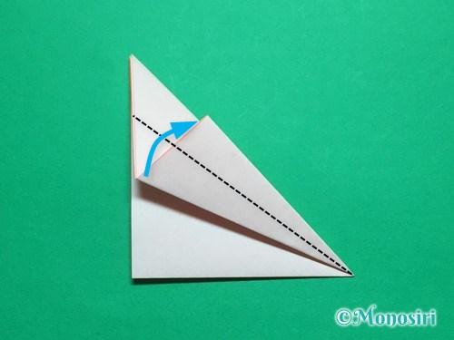 折り紙で簡単なガーベラの折り方手順9